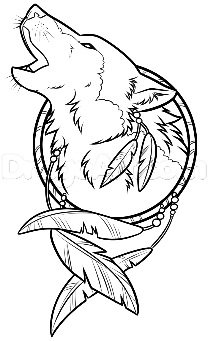 Dream Catcher Drawing Easy at GetDrawings | Free download