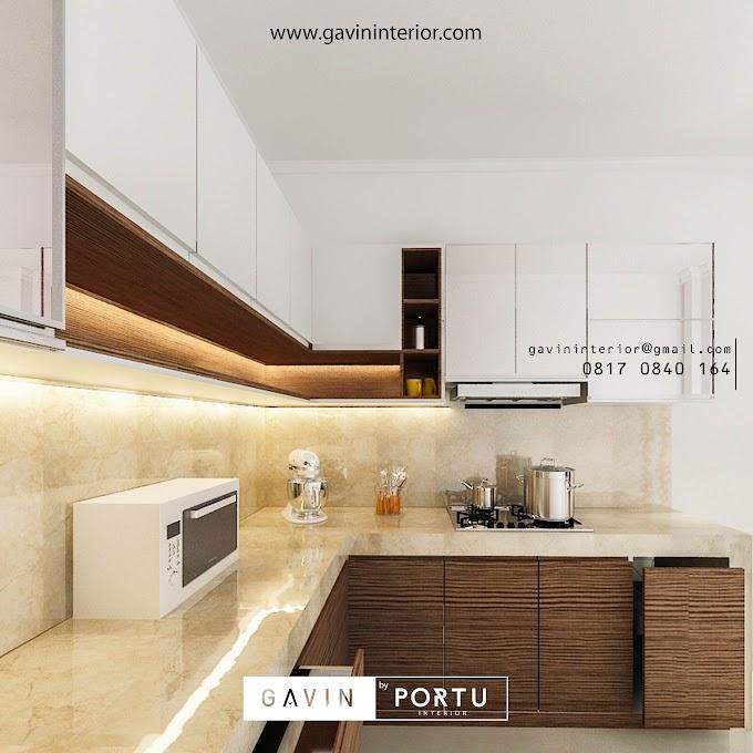 Model Dapur Cantik Bentuk L | Ide Rumah Minimalis