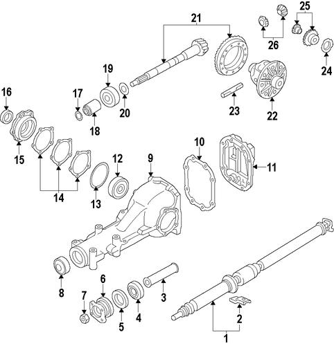 32 2001 Subaru Outback Exhaust System Diagram