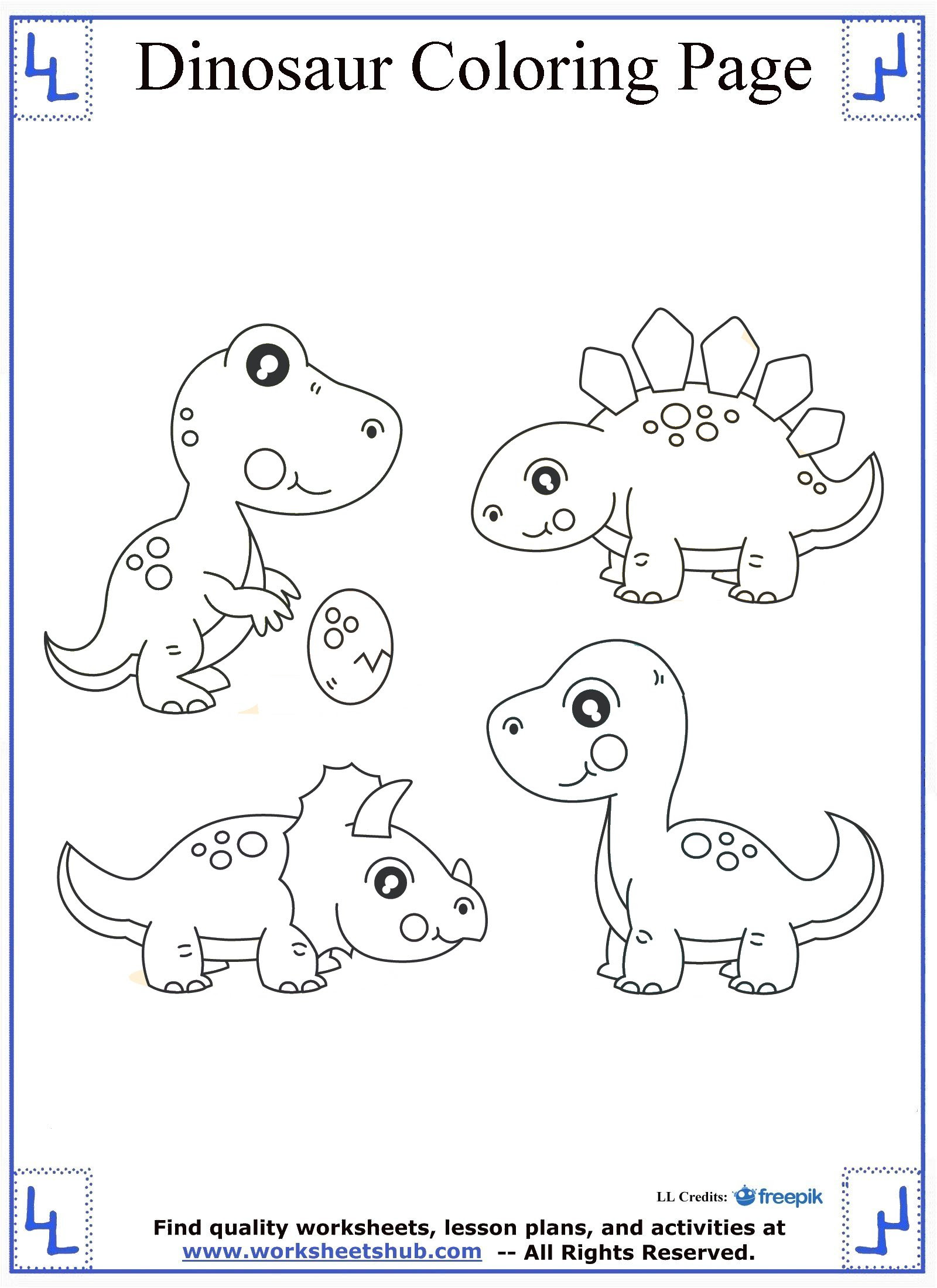 dinosaur coloring pages 11