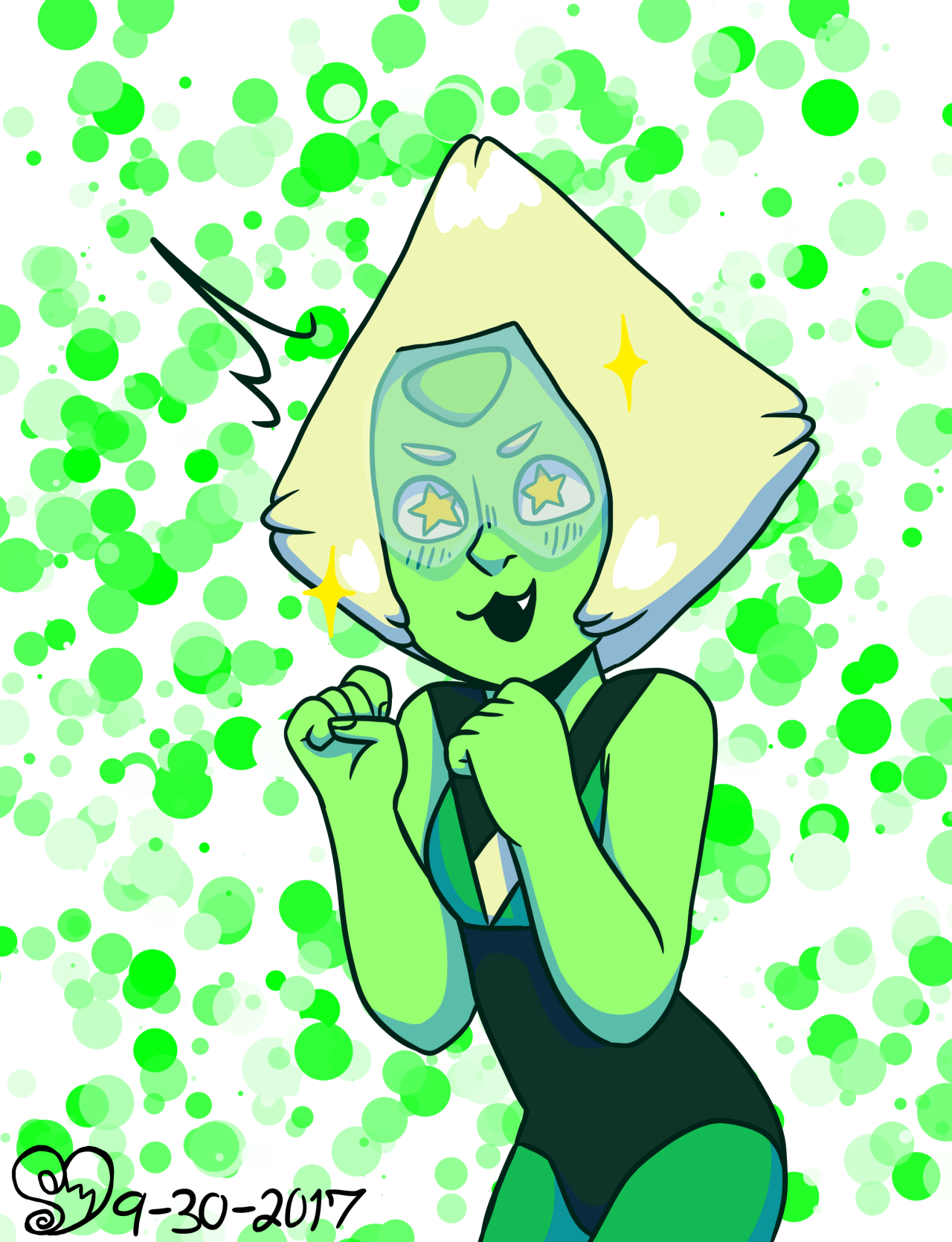 civvithecivilian said: C2 Peridot? If you're still doing requests 💙💚 Answer: Of course!!! Don't be shy, I'm always here. I LIVE on this website.