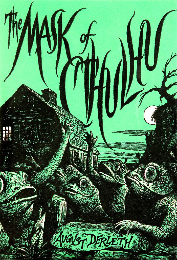Richard Taylor (Cover Illustration) August Derleth The Mask of Cthulhu (Arkham House, 1958)