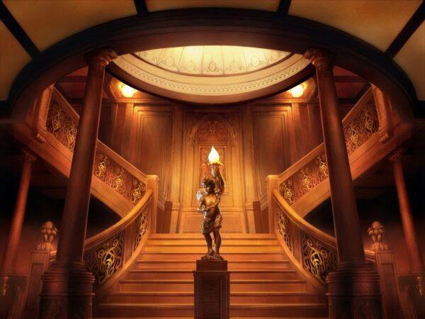 Imagens de como era o Titanic, dentro e fora