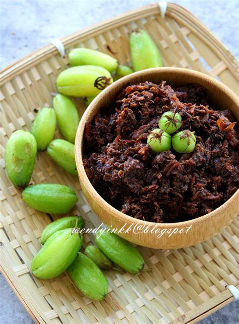 table     black sambal sambal hitam pahang