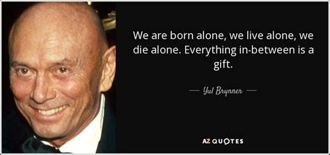 Yul Brynner The King And I Quotes