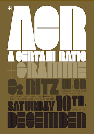 A Certain Ratio + Gramme live @ The Ritz 16 Dec