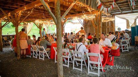 Rustic Mountain Farm Wedding Venue, White Fence Farm near