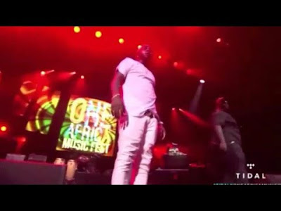 DOWNLOAD:VIDEO: Davido Performance at One Africa Music Fest 2016
