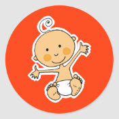 Little baby sticker