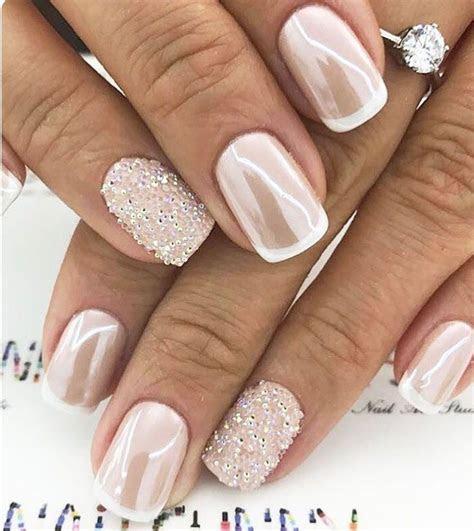 53 Outstanding Bridal Nails Art Designs Ideas 2018 2019