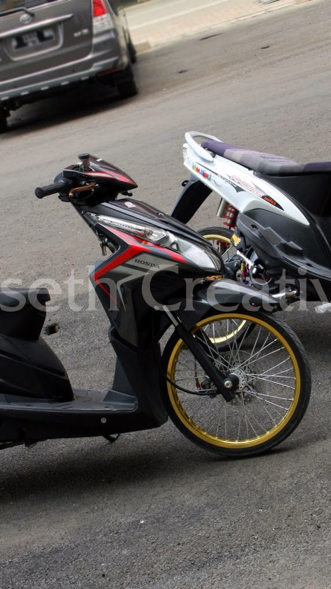 Download Kumpulan 71 Modifikasi Motor Honda Vario Techno 110