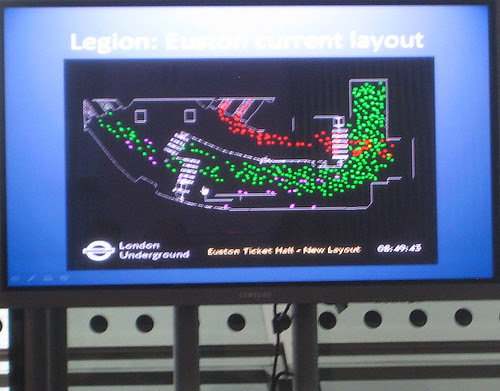 Legion - peak time at Euston Tube Current Layout