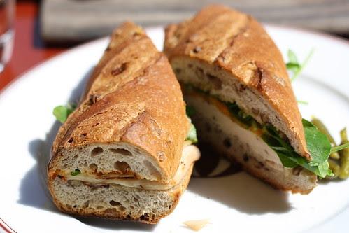 Turkey Sandwich at Bouchon