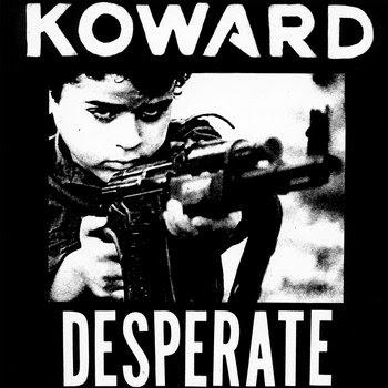 Koward - Desperate EP cover art