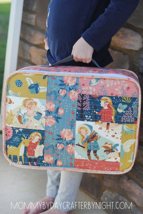 To Grandmother's House Suitcase Tutorial