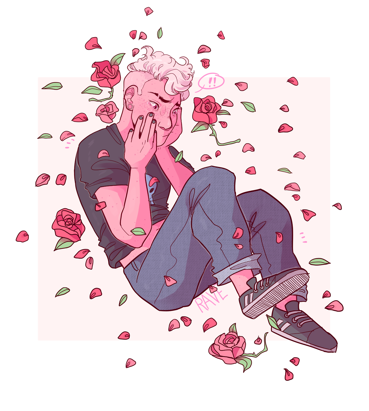 millennial pink was the color of the year, y'know speedpaint