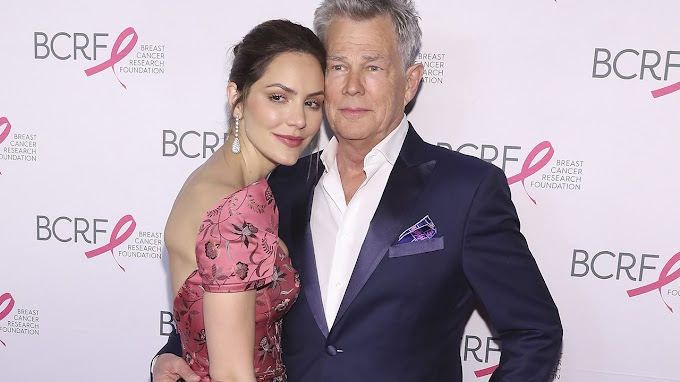 TREND ESSENCE: Katharine McPhee jokes this is the 'real reason' she married David Foster