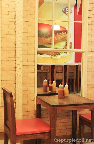Big Better Burgers Seats