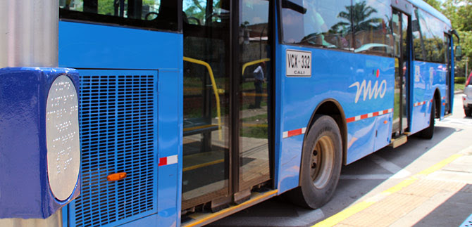 Para garantizar servicio, desvían buses del MIO en estación Siete de Agosto
