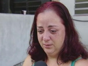Irmã de Fabiane fala sobre o caso (Foto: Reprodução/TV Tribuna)
