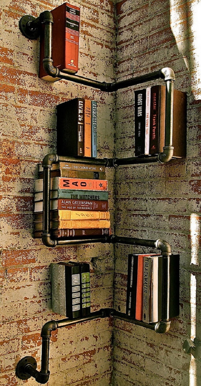 20 Cool DIY Metal Pipe Projects For Your Home - The ART in LIFE