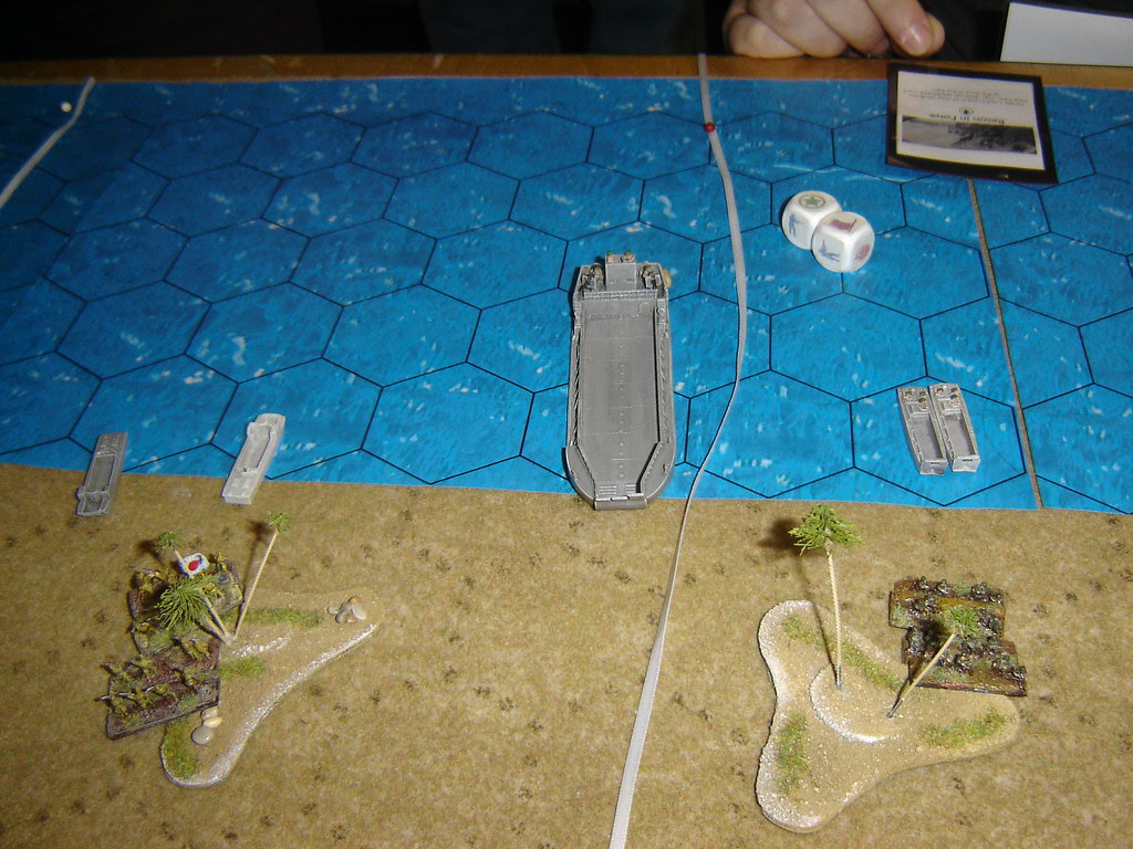 Japanese counter-attack leaves American centre looking weak