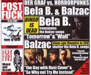 Bela B. + Balzac - Der Graf vs. Horrorpunks