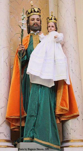 St. Joseph and Child Jesus in Guerrero, Mexico