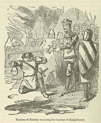 Thomas of Rokeby Receiving the Honour of Knighthood