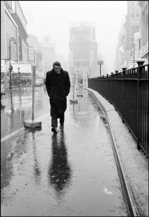 James Dean, en 1955 en Nueva York.