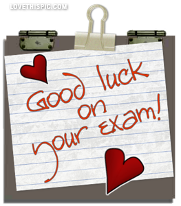 Good Luck On Your Exam Pictures Photos And Images For Facebook