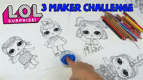 lol  kalem boyama challenge  dakikada  maker challenge