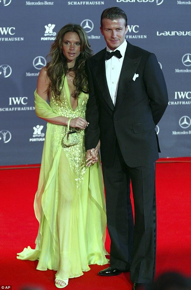 O feliz casal: David e Victoria se tornaram um dos casais mais amados do mundo showbiz