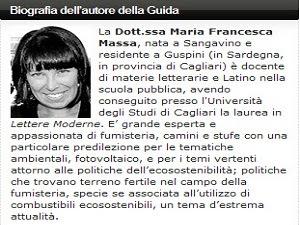 Dott.ssa Francesca Massa, autrice della guida