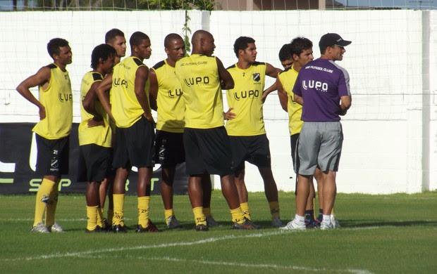 Titulares do ABC (Foto: Tiago Menezes)