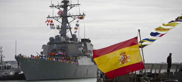 El USS Donald Cook llega a Rota
