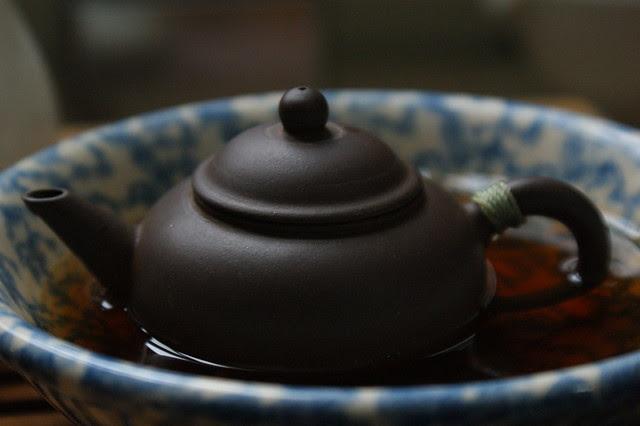 Happy little teapot