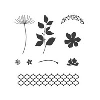Summer Silhouettes Clear Stamp Set