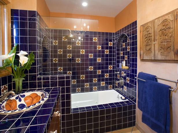Mexican Bathroom Decor Home Interior, Mexican Bathroom Designs