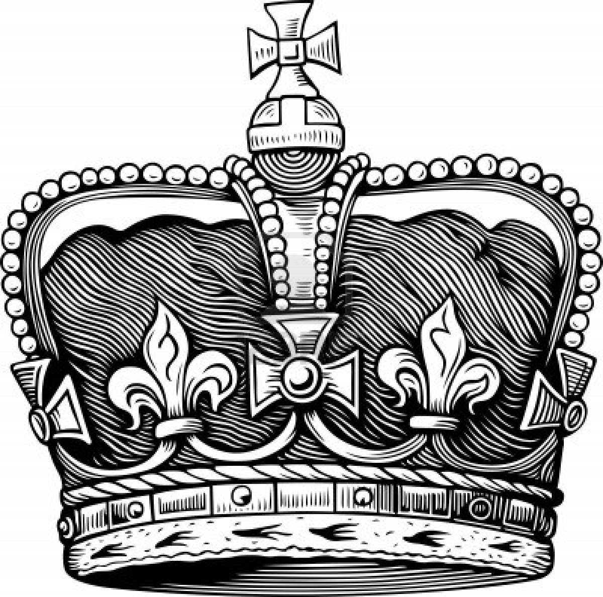King Crown Drawing At Getdrawingscom Free For Personal Use King