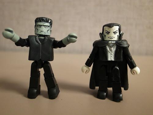 Frankenstein's Monster and Dracula