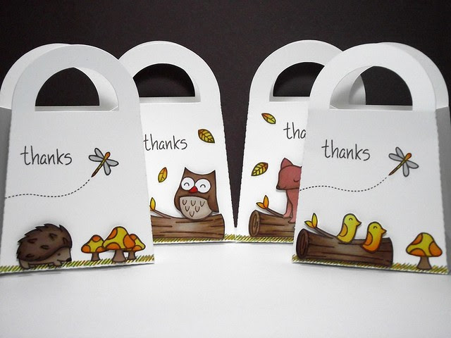 Lawnscaping hop gift bags