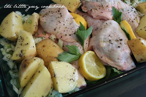 Chicken with Lemon & Lovage