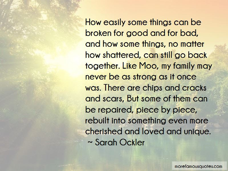 Strong But Broken Quotes Top 43 Quotes About Strong But Broken From