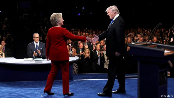 USA Wahlkampf TV Duell (Reuters)