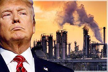 Resultado de imagen para Donald Trump, promotor en jefe de las emisiones de CO2