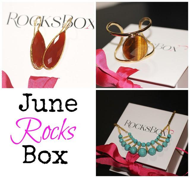June 13 Rocks Box Collage