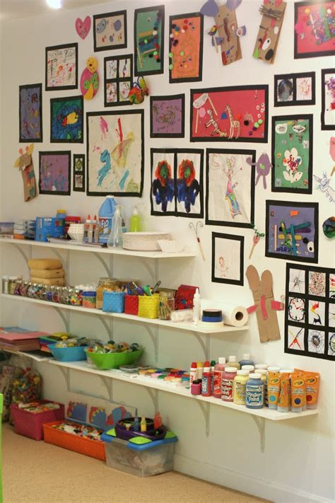playroom design  art room