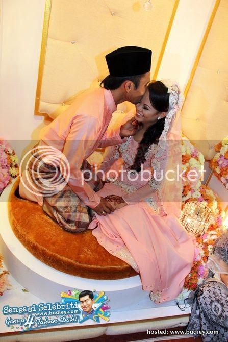 gambar kahwin siti sarah shuib