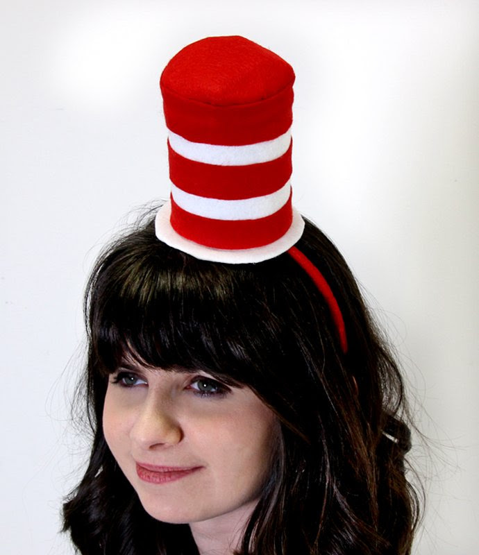 Hat Costume Ideas Diy Cat In The Hat Hat Sc 1 St Party Delights Blog